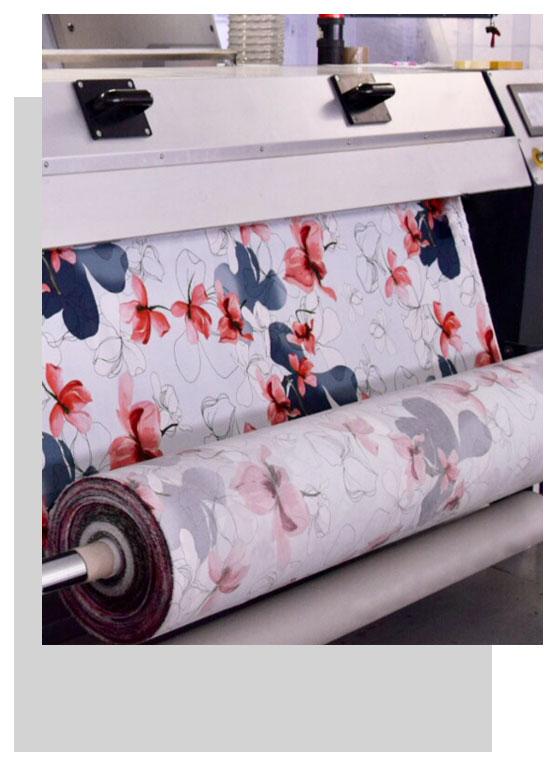 silkomo stampa digital su tessuto como